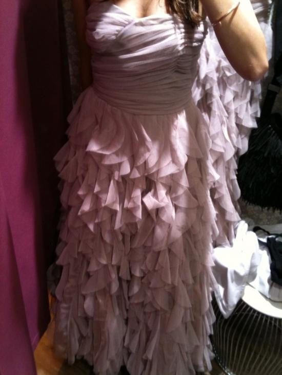 une robe de princesse chez naf naf the brunette. Black Bedroom Furniture Sets. Home Design Ideas